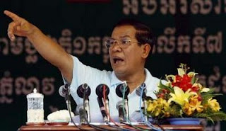 Hun Sen Spricht Record in Kampot 1 July 2009